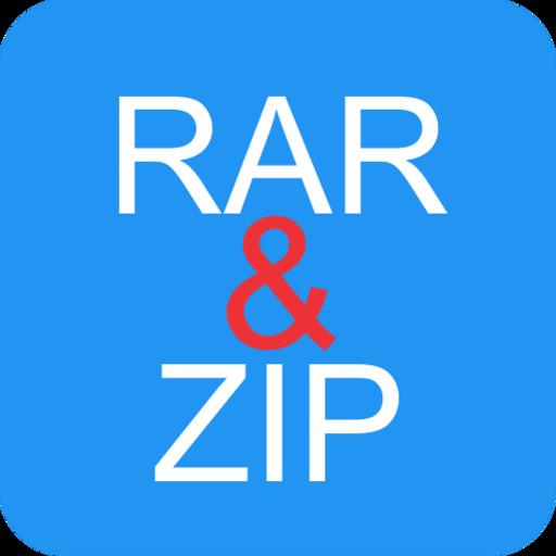 RAR and ZIP